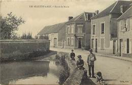 - Yvelines -ref-B645- Les Alluets Le Roi - Route De Maule - Carte Bon Etat - - France