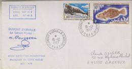 TAAF 1977 Terre Adelie Cover Ca 15-12-1977 (38534) - Franse Zuidelijke En Antarctische Gebieden (TAAF)