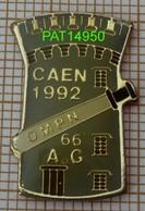 OMPN  CAEN 1992  AG  Orphelinat Mutualiste De La Police Nationale  Tour Du Chateau De Caen + Matraque - Police