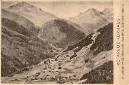 St. Jakob I. Defereggen, Ost-Tirol - Rotkreuz-Kurhaus - Defereggental