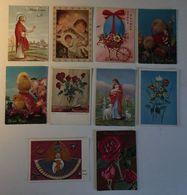 Buon Natale - Buona Pasqua Angelo Angel Fioref Lower - Lotto 10 Cartoline - Cartoline
