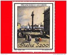Nuovo - MNH - ITALIA - 1993 - Bicentenario Della Morte Di Francesco Guardi - 3200 L. - La Piazzetta - 1946-.. République