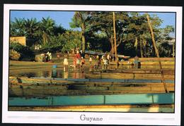 CP Europe - France - Guyane Vie Sur Le Fleuve - Guyane