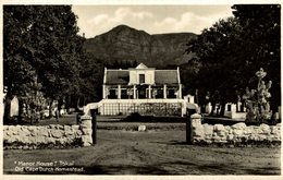 """Manor House"" Tokai. Old Cape Dutch Homestead  Sudafrica , SOUTH AFRICA , Afrique Du Sud - Sudáfrica"