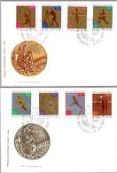 MEDALLAS DE POLONIA EN TOKYO 1964 - Poland Medals In Tokyo 1964. Set 2 SPD/FDC 1965 - Summer 1964: Tokyo
