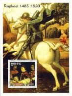 Guinea 2002, Art, Raphael, Horse, BF - Guinea (1958-...)