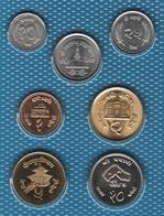 NEPAL LOT COINS 7 MONNAIES  UNC - Nepal