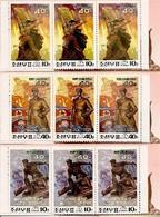 KOREA NORTH (DPR), 1993, Booklet 2/4, Liberation War - Korea (Noord)