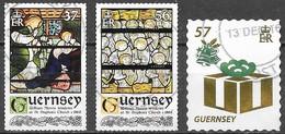 Guernesey - Noël  - Oblitérés - Lot 138 - Guernsey