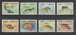 (S1885) CUBA, 1965 (Fish In National Aquarium). Complete Set. Mi ## 1112-1119. Used - Cuba