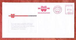 Brief, Hasler C16-298B, Wuerth, 100 Pfg, Kuenzelsau 1993 (50394) - [7] West-Duitsland