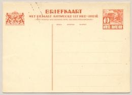 Nederlands Indië - 1934 - 10 + 10c Karbouwen, Briefkaart G56 / H&G61 - Ongebruikt - Nederlands-Indië