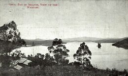 OPUA BAY OF ISLANDS VIEW UP THE WAIKARE     NEW ZEALAND  NUEVA ZELANDA - New Zealand