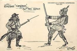 -guerre 1914-18 -ref M97- Illustrateurs - Illustrateur Payonne 1914 -representation Timbres - - War 1914-18