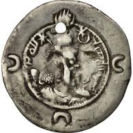 Monnaie, Khusrau I, Drachme, 531-579, TB+, Argent - Orientales
