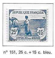 FRANCE N°151 - NEUF * - France