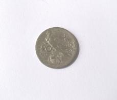 Regno D'Italia 20 Cent. 1910 (circolata) - 1861-1946 : Regno
