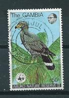 1978 Gambia Birds Of Prey,birds,vögel,WWF Used/gebruikt/oblitere - Gambia (1965-...)