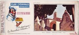 Rare Buvard Flan Lyonnais Entremets Série A Provence - Alimentare