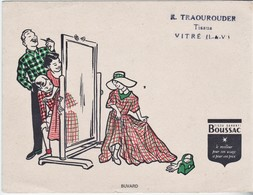 Rare Buvard Tissu Boussac - Textile & Clothing