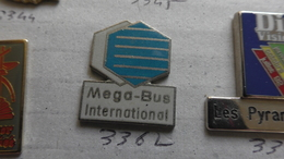 MEGA BUS INTERNATIONAL - Badges