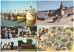 Lot 910 Cartes Postales De France  , Toutes Les Cartes Scannées Sont Incluses - Cartes Postales