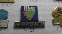 DIAC VISION 95 LES PYRAMIDES 1993 - Badges