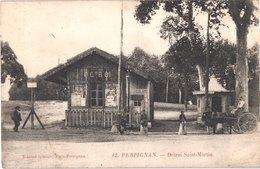 FR66 PERPIGNAN - édition Spéciale 12 - Octroi Saint Martin - Attelage - Animée - Belle - Perpignan