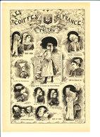 Poitou Coiffe Vendéenne Sables D'olonne Costume Melle Parthenay Sommières Niort Luçon La Roche-sur-Yon 216CH14 - Unclassified