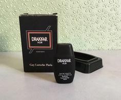 """Miniature """"DRAKKAR NOIR"""" De GUY LAROCHE Eau De Toilette 5 Ml - Miniatures Modernes (à Partir De 1961)"""