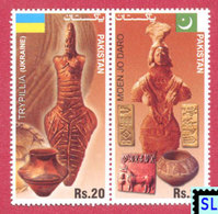 Pakistan Stamps 2014, Monuments Of Ancient Cultures, Joint Issue Ukraine,  MNH - Pakistan