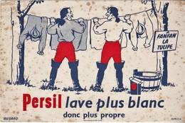 Rare Buvard Lessive Persil Fanfan La Tulipe - Pulizia