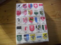 Paquet De Morceaux De Sucre Emballés, Avec Drapeaux Pays - Sucres