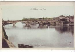 Cpa Corbeil  Le Pont - Corbeil Essonnes