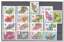 Bermuda 1970, Postfris MNH, Flowers ( 2 Ct Is Plakker MNH ) - Bermuda