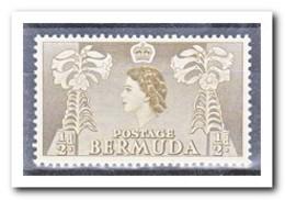 Bermuda 1953, Postfris MNH, Flowers, Queen - Bermuda
