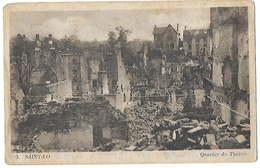 50 - SAINT LÔ - Quartier Du Théâtre  Après La Bataille De 06 - 07 1944      H - Saint Lo