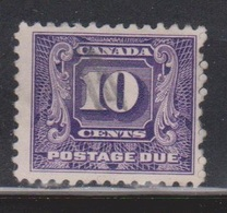CANADA Scott # J10 Used - Postage Due - 1911-1935 Reign Of George V