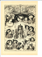 Costume Coiffe Franche-Comté Bourgogne Bourbonnais Lyonnais Bressane Diaichotte Maconnaise Beaujolais Bresse 216CH14 - Vieux Papiers