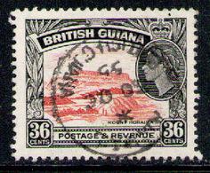 BRITISH GUIANA 1954 - From Set Used - British Guiana (...-1966)