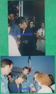 Artiste - Annie Lemoine Au Festival De Cannes En 1992 - Journaliste Et Romancière - Famous People
