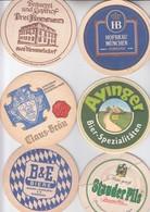 LOT  16    6 X   BIERDECKEL   Der Brauerei - Alcohols