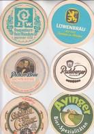 LOT  17    6 X   BIERDECKEL   Der Brauerei - Alcohols