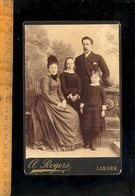 Photographie Cabinet : Famille / Photographe A ROGERS In LANARK Scotland Photograph - Photographs
