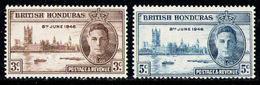 BRITISH HONDURAS 1946 - Set MNH** - British Honduras (...-1970)