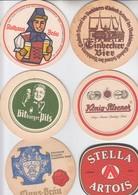 LOT  18    6 X   BIERDECKEL   Der Brauerei - Alcohols
