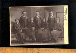 Photographie Cabinet : Famille 1925 / Photographe Atelier RAFAEL  BRNO Poland Polska Photograph - Photographs