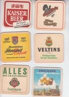 LOT  19    6 X   BIERDECKEL   Der Brauerei - Alcohols