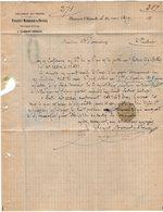 VP11.973 - Lettre - Facture - Habillement Des Troupes ROUQUET MARREAUD & DEVAUX Fabricants De Draps à CLERMONT L'HERAULT - France