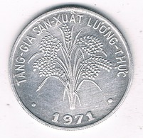 1 DONG 1971 VIETNAM /2271G/ - Vietnam